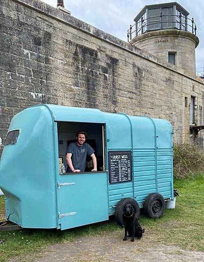 Hurst Castle Takeaway food horsebox